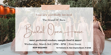 Spring Bridal Open House tickets