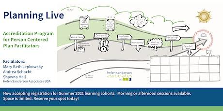 Planning Live - Accredited Facilitator Training Program Summer 2021 - PM tickets
