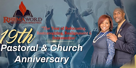 19th Pastoral and Church Anniversary tickets