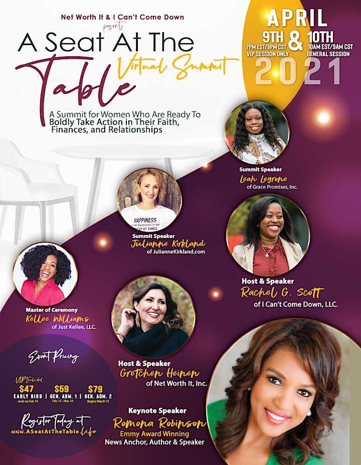 A Seat At The Table:  Women of Faith Taking Action In Business and Life image