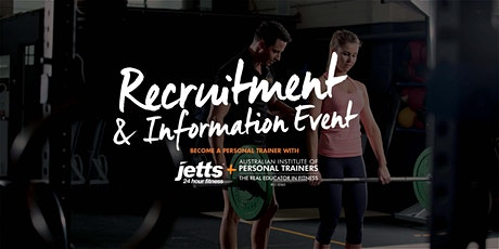 AIPT and Jetts 24/7 Fitness Recruitment and Information Event tickets