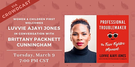 Virtual Conversation: PROFESSIONAL TROUBLEMAKER by Luvvie Ajayi Jones tickets