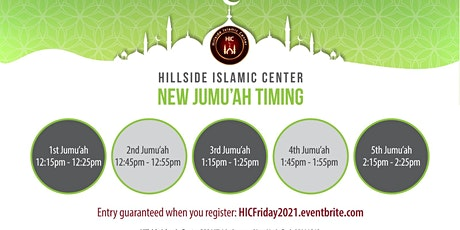 HIC Jumu'ah 2021 Registration (Required) tickets