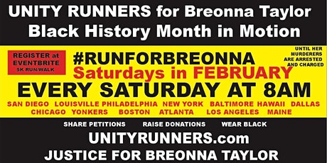Unity for Breonna tickets