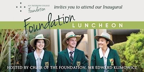 Foundation Luncheon tickets