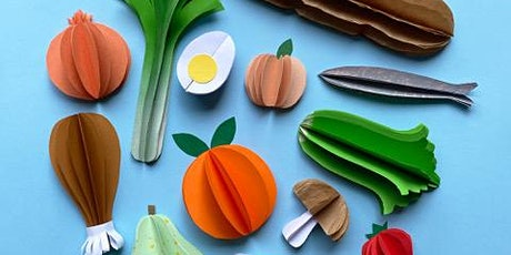 MKids—Mirka's French Paper Food Workshop with Beci Orpin tickets