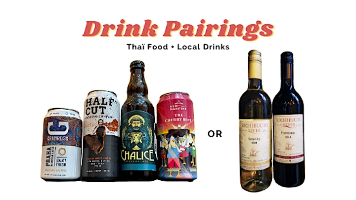 Be My Valen-Thaïne: A Food & Drink Pairing for Two! image