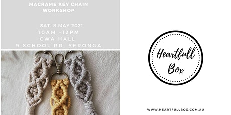 Macrame Key Chain Workshop tickets