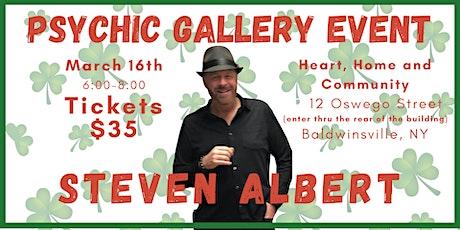 Steven Albert: Psychic Gallery Event - Baldwinsville tickets