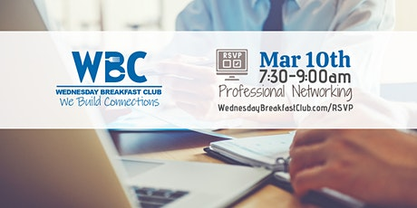 Wednesday Breakfast Club - March 10th tickets