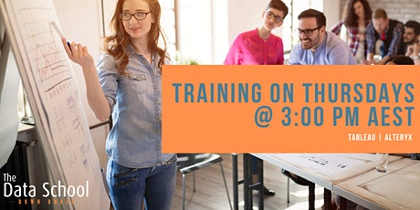 Training on Thursdays at Three - Tableau/ Alteryx biglietti