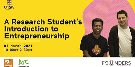 A Researcher's Introduction to Entrepreneurship tickets