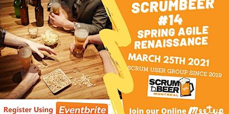 Agile Scrum Beer Montréal #14 - World Wide Online Scrum Gathering biglietti