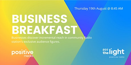 VIRTUAL EVENT: PositiveMedia Business Breakfast billets
