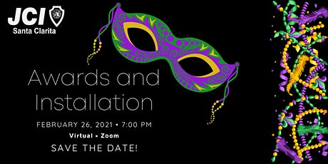2021 Awards & Installation Virtual Mardi Gras Masquerade tickets
