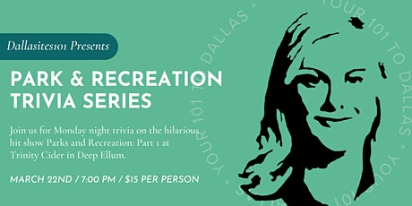 Parks & Recreation Trivia: Part 1 tickets