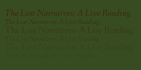 MTalks— The Lost Narratives: A Live Reading tickets