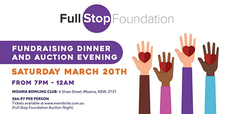 Full Stop Foundation Auction Night tickets