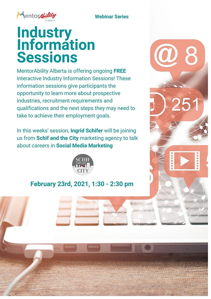 MentorAbility Industry Information Session: Social Media Marketing image