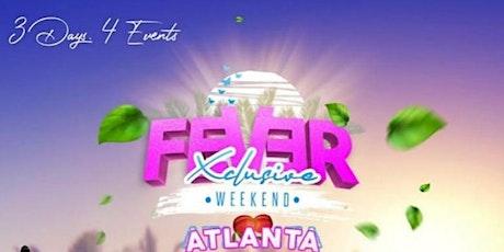 FEVER Xclusive Weekend tickets