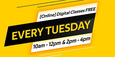 Digital Class: Social Media (Part 2) tickets