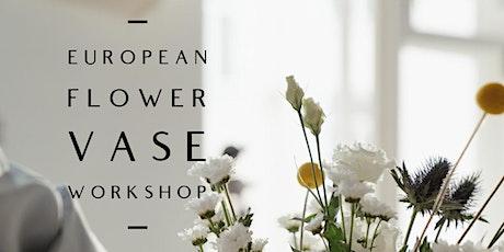 European Flower Vase Workshop tickets