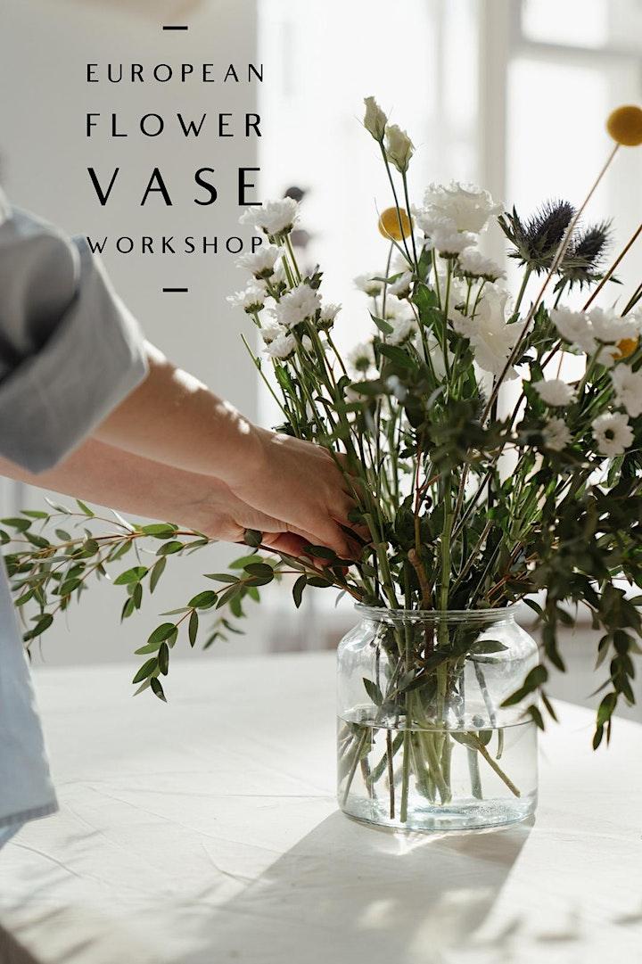 European Flower Vase Workshop image