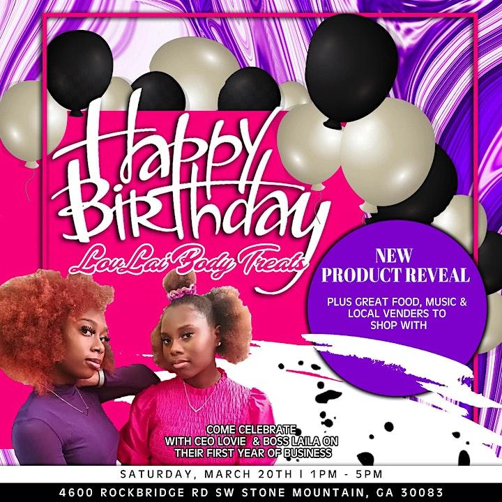 LovLai Body Treats Birthday Bash image