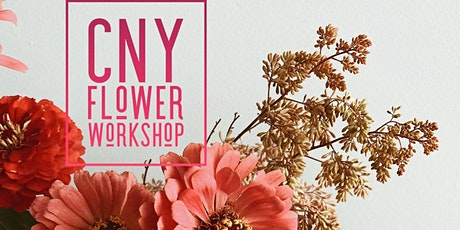 CNY Flower Workshop tickets