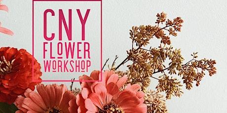 CNY Flower Workshop tickets