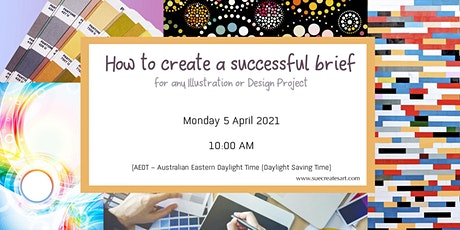 How to create a successful brief for an Illustration and Design Project tickets