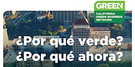 ¿Por qué verde? ¿Por qué ahora?  Seminario Web Para Negocios entradas