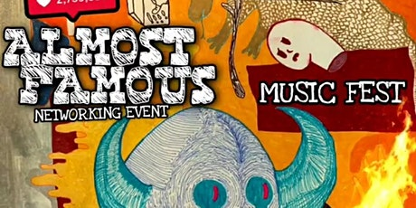 Almost Famous - Music and Networking Event tickets