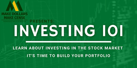 Investing 101 for Beginners - Stock Market tickets