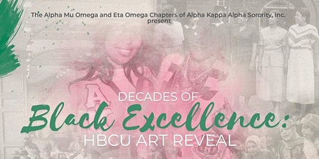 Decades of Black Excellence: HBCU Virtual Art Reveal Tickets