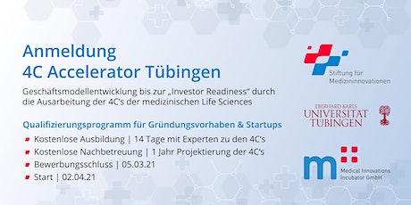 Registration - 4C Accelerator Tübingen Tickets