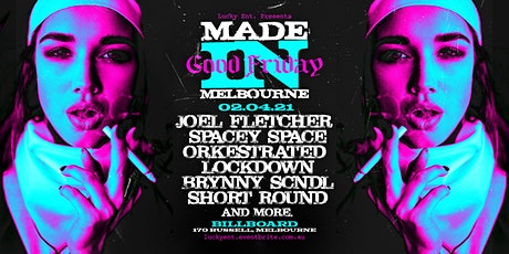 Made in Melbourne - April 2nd tickets