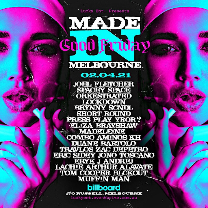 Made in Melbourne - April 2nd image