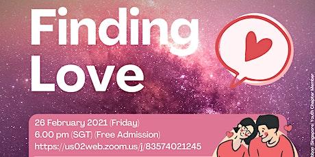 A Silver Ribbon Mental Health Talk: Finding Love tickets