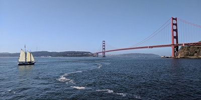Mothers Day Sail Under the Golden Gate Bridge - M