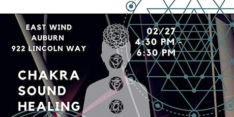 Chakra Workshop and Sound Healing tickets