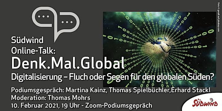 Denk.Mal.Global - Digitale Weltentwicklung - Podiumsgespräch: Bild