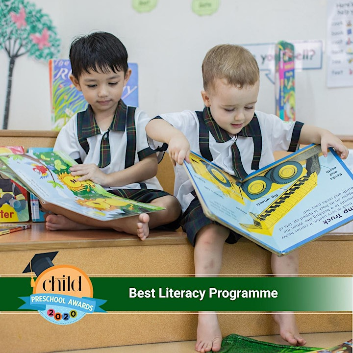 Learn more about our preschool's Literacy SMART programme image
