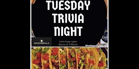 Taco Tuesday & Trivia @ Moonbroch - Rogers Arkansas tickets