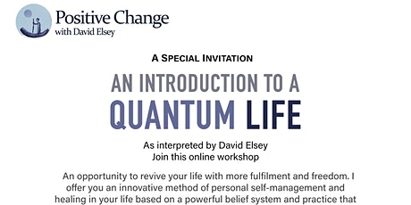 A Quantum Life:  A Special Introduction tickets