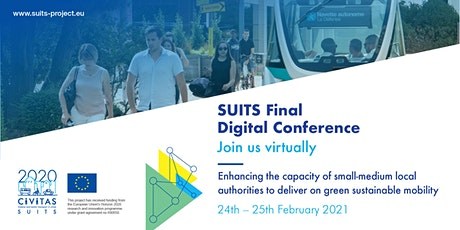 SUITS project `Digital Final Conference tickets