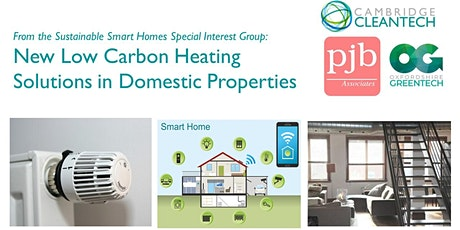 New Low Carbon Heating Solutions in Domestic Properties tickets