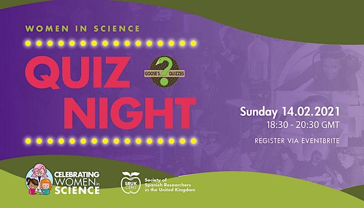 Women in science: the Pub Quiz image