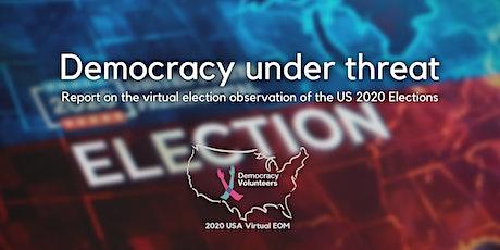 Democracy under threat tickets