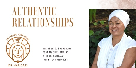 Master Class AUTHENTIC RELATIONSHIPS - Kundalini Yoga Teacher Training KRI tickets